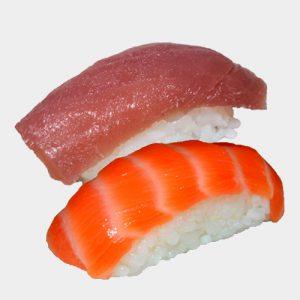 losos tuňák nigiri set